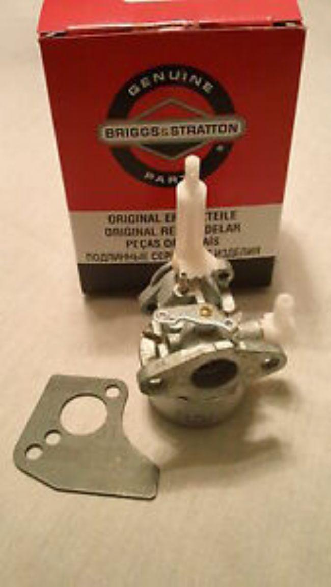 NEW 699103 Briggs and Stratton snowblower carburetor carb